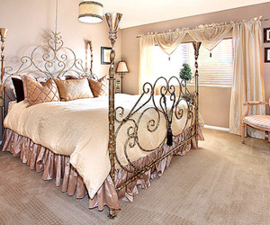 luxury, bedroom, and pretty image