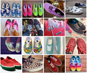vans, shoe, and tennis image