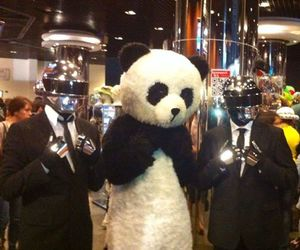 daft punk and panda image