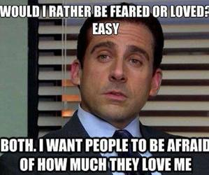 funny, love, and the office image