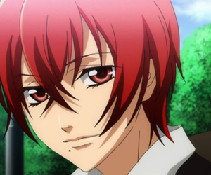 anime, starry sky, and yoh tomoe image