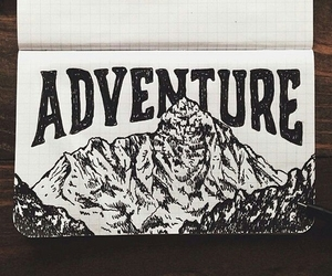 adventure and drawing image