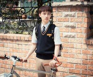 exo, uniform, and handsome image