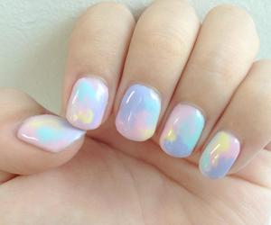 nails, pastel, and nail art image