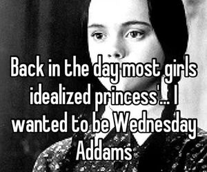 princess, wednesday addams, and quotes image