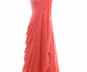 evening dress and pink image
