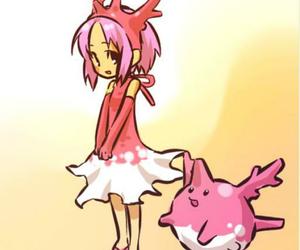 pokemon, girl, and corsola image