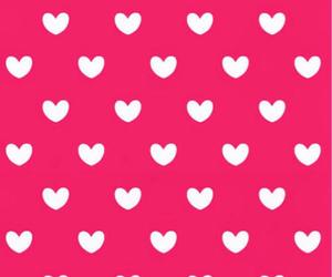 wallpaper, hearts, and pink image