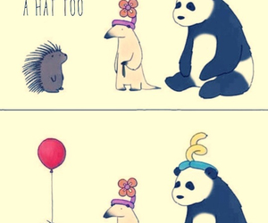 animals, baloon, and funny image