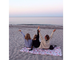 friendship, girls, and summer image