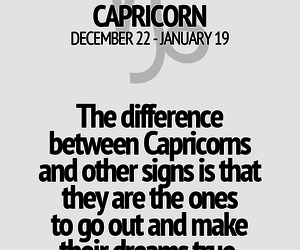 horoscope, zodiac, and capricorn image