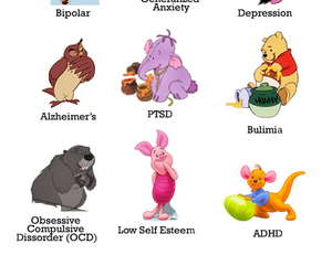 pooh, whinnie the pooh, and mental disorders image