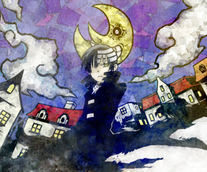 soul eater, shinigami, and death the kid image