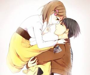 anime and levi rivaille image
