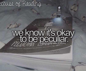 books, peculiar, and love image