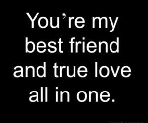 love, best friend, and boyfriend image