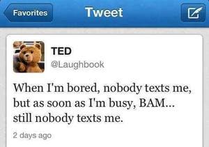 bored, text, and nobody image