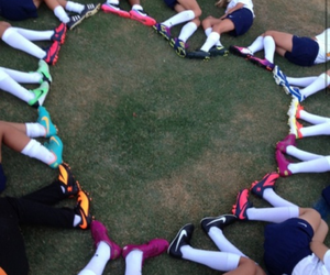 soccer, love, and heart image