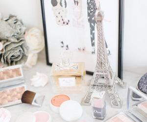 dior, paris, and makeup image