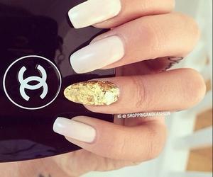 chanel, nail art, and nails image