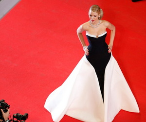blake lively, dress, and red carpet image