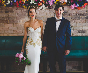 love, wedding, and bride image