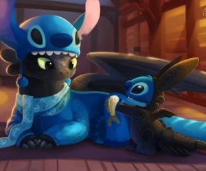 adorable, stich, and stitch image