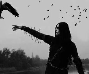 Black Metal, black, and metal image