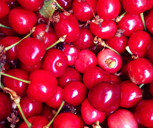 cherry, red, and sweet image