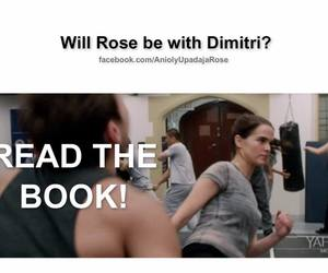 book, vampire academy, and rose hathaway image