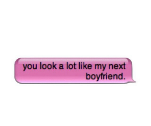 boyfriend, pink, and text image