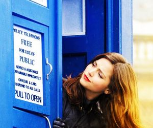 doctor who, clara oswald, and jenna coleman image