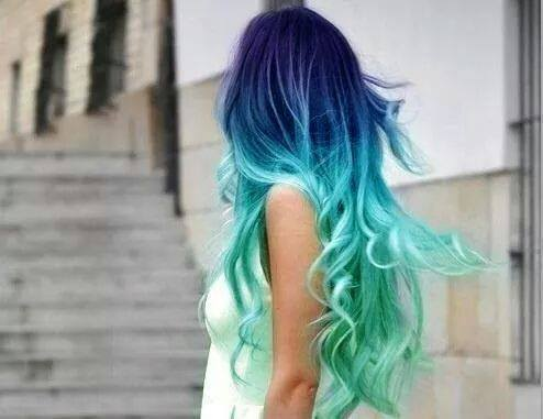 Colorful Hairstyles | via Facebook on We Heart It
