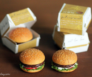burger, food, and mini image