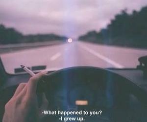 cigarette, quote, and drive image