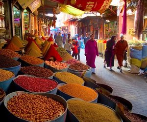morocco, spices, and world image