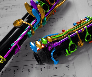 clarinet, music, and band image