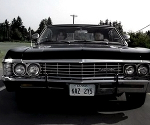 winchesters and impala 67 image