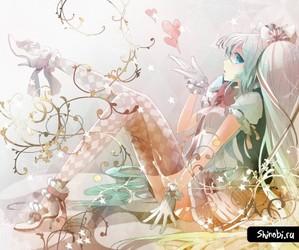 anime, girl, and hatsune miku image