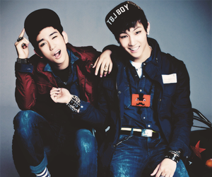 JB, JR, and kpop image