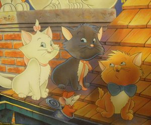aristocats, berlioz, and cat image