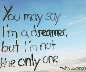 Dream, dreamer, and imagine image