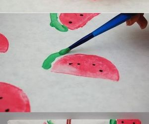 diy, watermelon, and gift image