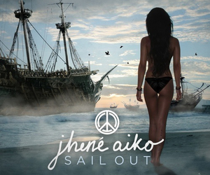 music, jhene aiko, and sail out image