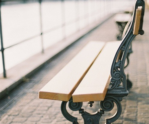 bench, beautiful, and photography image