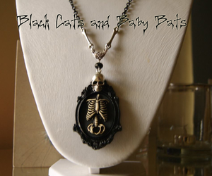 goth, gothic, and jewellery image