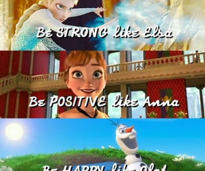 frozen, elsa, and olaf image