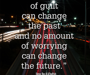 quote, future, and guilt image