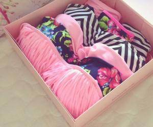summer, bikini, and pink image
