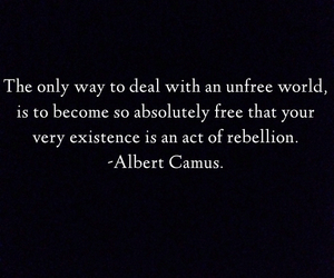 albert camus, anarchy, and black and white image
